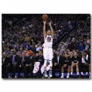 Stephen Curry MVP Basketball Star Poster NBA Warriors 32x24