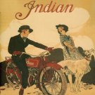 Vintage Indian Motorcycle Advertisement Photo Print 32x24