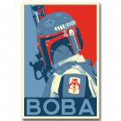 Star Wars Enemy Of The Empire Movie Poster Boba Fett 32x24