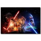 Star Wars 7 The Force Awakens Movie Art Poster 32x24