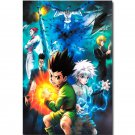Hunter X Hunter Anime Art Poster Gon Freecss Killua Zoldyck 32x24