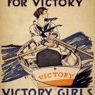 Wwii Victory Girls War Propoganda Poster Art Print 32x24