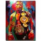 Mike Tyson Champion Boxer Boxing Art Poster 32x24
