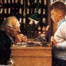 Norman Rockwell The Watchmaker Of Switzerland Fine Art Print 32x24