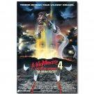 A Nightmare On Elm Street 4 Horror Movie Poster 32x24