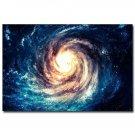 Black Hole Outer Space Galaxy Stars Nebula Art Poster Print 32x24