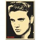 Elvis Presley Rock And Roll Music Singer Vintage Poster 32x24