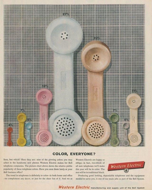 Vintage Western Electric Telephone Ad Art Print 32x24
