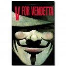 V For Vendetta Comic Movie Art Fabric Poster Print 32x24