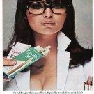 Vintage Tiparillo Sexy Cigarette Smoking Ad Art Print 32x24