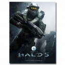 Halo 5 Guardians Game Art Poster Print Master Chief 32x24