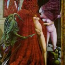 Max Ernst Robing Of The Bride Fine Art Print 32x24