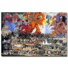 Naruto Shippuden Anime Game Fabric Poster 32x24