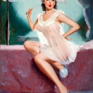 Peter Darro PIN UP Girl Art Print 32x24