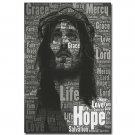 Hope Jesus Christ Motivational Quote Poster Wall Decor 32x24