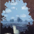 Rene Magritte The Land Of Miracles Fine Art Print 32x24