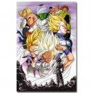 Dragon Ball Z Goku Son Gohan Anime Poster Print 32x24