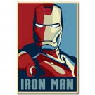 Iron Man 3 Comic Movie Art Poster Print Vintage Style 32x24