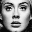 Adele 2016 Eyes Black White Print POSTER 32x24