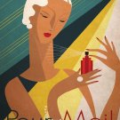 Vintage Pour Moi French Fragrance Poster Print 32x24