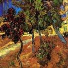 Van Gogh Trees In The Garden Of SAINT PAUL Hospital 3 Print 32x24