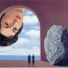 Rene Magritte Portrait Of Stephy Langui Fine Art Print 32x24