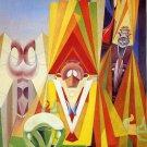 Max Ernst Feast Of The God Fine Art Print 32x24