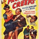 Professor Creeps 1942 Vintage Movie Poster Reprint