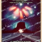 Close Encounters Of The Third Kind 1977 Vintage Movie Poster Reprint