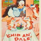 Chip An Dale 1955 Vintage Movie Poster Reprint