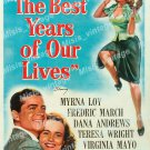 Best Years Of Our Lives 1946 Vintage Movie Poster Reprint
