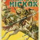 The Great Adventures Of Wild Bill Hickok 1938 Vintage Movie Poster Reprint