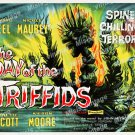 The Day Of The Triffids 1962 Vintage Movie Poster Reprint 7