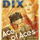 Ace Of Aces 1933 Vintage Movie Poster Reprint