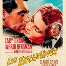 Notorious 1958 Vintage Movie Poster Reprint 37