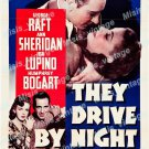 They Drive By Night 1940 Vintage Movie Poster Reprint 5