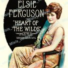 Heart Of The Wilds 1918 Vintage Movie Poster Reprint