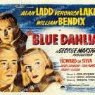 The Blue Dahlia 1946 Vintage Movie Poster Reprint 23