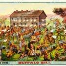Buffalo Bill 1891 Vintage Movie Poster Reprint 2