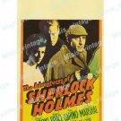The Adventures Of Sherlock Holmes 1939 Vintage Movie Poster Reprint 5