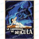 Horror Of Dracula 1958 Vintage Movie Poster Reprint 11