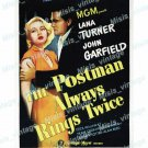 Postman Always Rings Twice 1946 Vintage Movie Poster Reprint 2