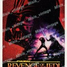 Revenge Of The Jedi 1982 Vintage Movie Poster Reprint 23