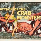 Attack Of The Crab Monsters 1957 Vintage Movie Poster Reprint 18