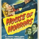 House Of Horrors 1946 Vintage Movie Poster Reprint 4