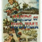 Sands Of Iwo Jima 1950 Vintage Movie Poster Reprint 3