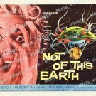 Not Of This Earth 1957 Vintage Movie Poster Reprint 5
