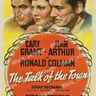 The Talk Of The Town 1942 Vintage Movie Poster Reprint 3
