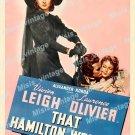 That Hamilton Woman 1941 Vintage Movie Poster Reprint 5