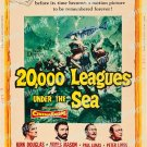 20 000 Leagues Under The Sea 1954 Vintage Movie Poster Reprint 5